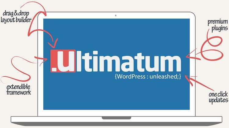 Ultimatum Drag and Drop Wordpress Theme Builder