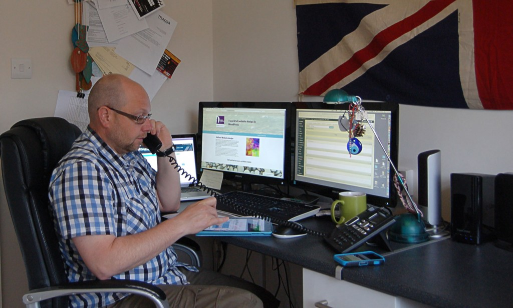 Ian Blackford in the Design Conscious Office